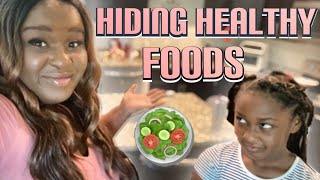 HIDING HEALTHY FOODS IN MY (SUPER PICKY) DAUGHTER'S MEALS TO SEE IF SHE NOTICES (SHE WAS APPALLED)
