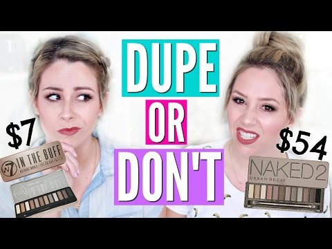 PINTEREST MAKEUP DUPES TESTED | DUPE OR DON'T