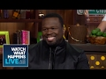 rapper 50 cent discusses vivica a fox ass licking wwhl