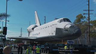 Space Shuttle Last Flight  Streets of L.A.