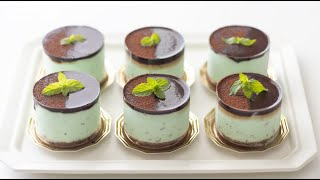 チョコミントムースの作り方 Chocolate Mint Mousse HidaMari Cooking