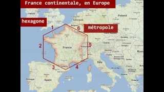 Le territoire français: la France d