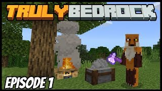 Minecraft 1.11 Is Here! - Truly Bedrock (Minecraft Survival Let's Play) Episode 1