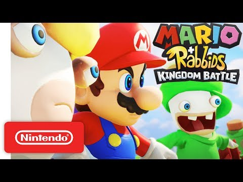 Mario + Rabbids Kingdom Battle - Official Game Trailer - Nintendo E3 2017