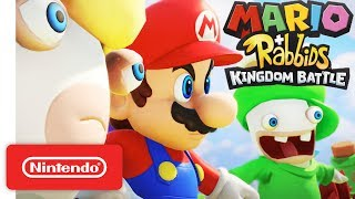 Download Mario + Rabbids Kingdom Battle - Official Game Trailer - Nintendo E3 2017 Mp3 and Videos