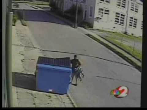 Kids found alive in dumpster