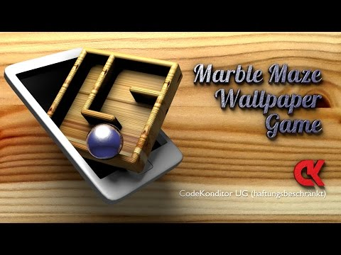 Marble Maze Wallpaper Game for Android