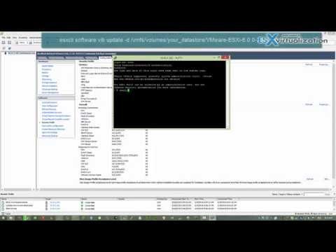 How-to upgrade from ESXi 5.1 to ESXi 6.0 via Command Line