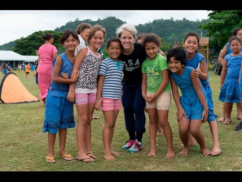 Lori Lindsey - Sports Envoy, 2016 Samoa Trip