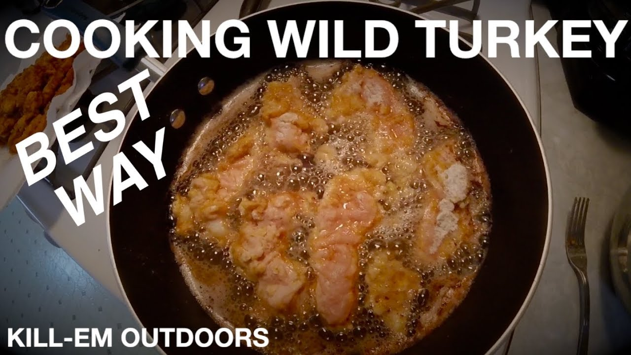 The Best Way To Cook Wild Turkey Breast Youtube