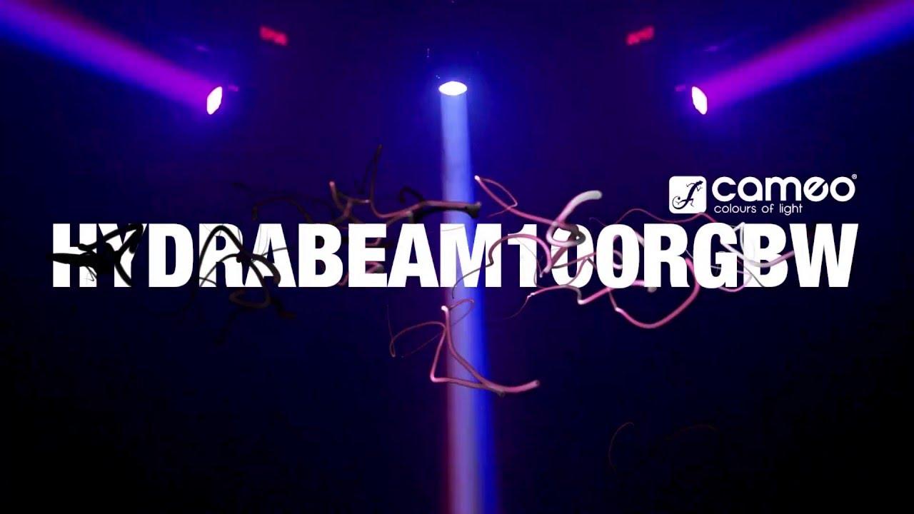 cameo hydrabeam 100 rgbw lighting set with 1 ultra fast 10 w cree rgbw quad led moving heads cameo hydrabeam 100 rgbw lighting set