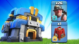 BEST TH12 ATTACK STRATEGY AFTER UPDATE? TH12 Queen Charge Miners with SIEGE BARRACKS! 2020