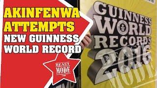 Akinfenwa Attempts New Guinness World Record