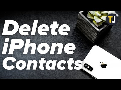 How To Delete Multiple Contacts In Iphone ios 14 - Remove All iphone Contacts.