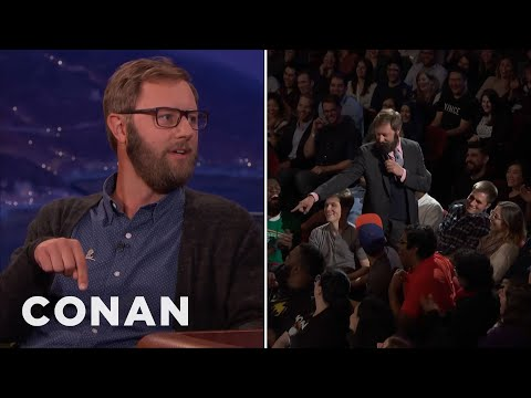 Rory Scovel On His #ConanNYC Crowd Work  - CONAN on TBS