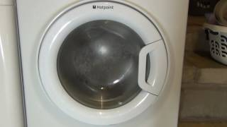 hotpoint style wmyl8352 washing machine overview and test on cotton 90 c