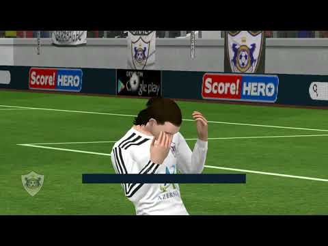 Qarabag Fc vs Atletico Madrid - Dream league soccer 2018 - Android gameplay #01