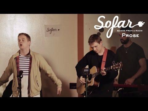 Prose - Run With Faith | Sofar London