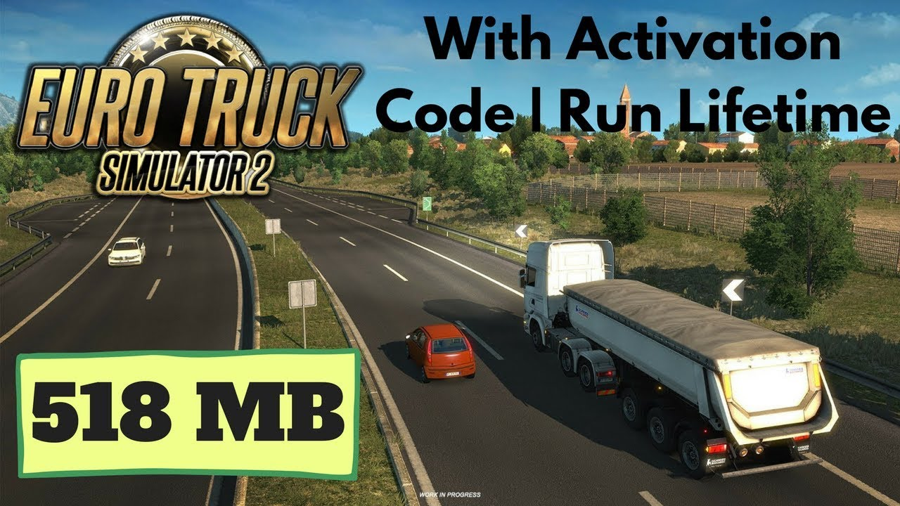 Download Euro Truck Simulator 2 518 Mb For Pc 99999999 Works Youtube