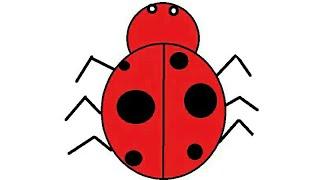 ladybug drawing draw easy tv