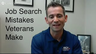 Todd Phillips on Mistakes Veterans Make When Looking for Civilian Work