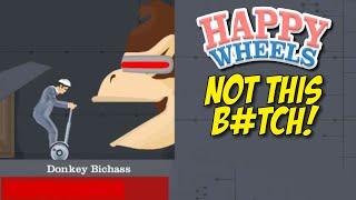 DONKEY B#TCH ASS STOLE MY MIXTAPE! [HAPPY WHEELS] [MADNESS!]