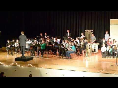 Newton Falls Junior High School Concert Band - Jingle Bells (12/2/17)