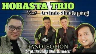 New Hobasta Trio Feat Arvindo Simatupang Panolsolion Cipt Freddy Tambunan