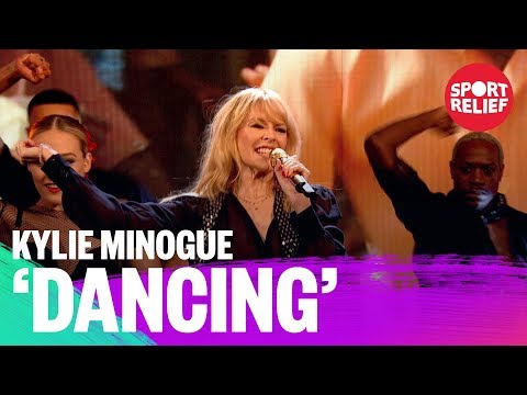 Kylie Minogue performs Dancing - Sport Relief 2018