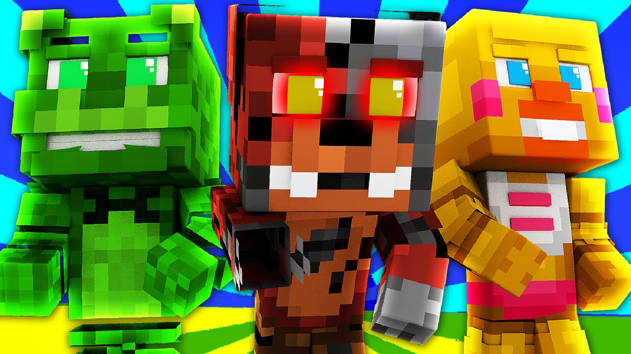FNAF World - Night 2 (Minecraft Roleplay) - TheFearRaiser ...