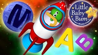 ABC Song | In Outer Space | Zed Version | Nursery Rhymes | By LittleBabyBum