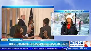 FOX News anunció respaldo a CNN en demanda contra Donald Trump