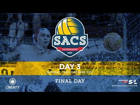 SACS Waterpolo Tournament, Monday 2nd October 2017, Final Day