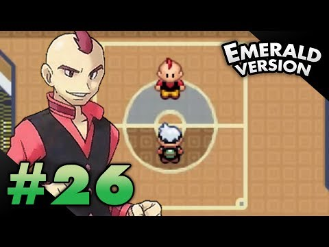 Let's Play Pokemon: Emerald - Part 26 - Elite Four Sidney