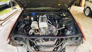 homepage tile video photo for Putting a Turbo K24 in my RHD Nissan Cefiro! *Ultimate Street Drift Car Build*