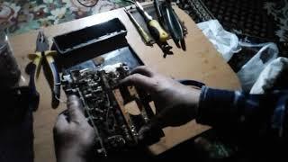 Автомобильный радиоприёмник Урал-авто-2. Разборка