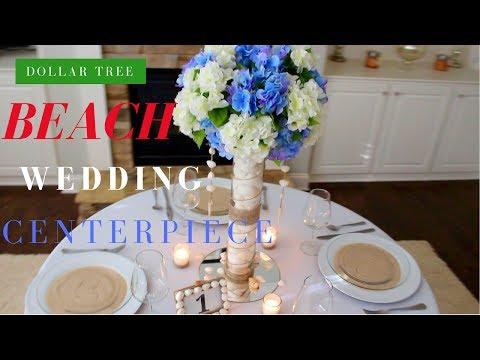 diy-beach-wedding-decorations|-dollar-tree-wedding-centerpiece