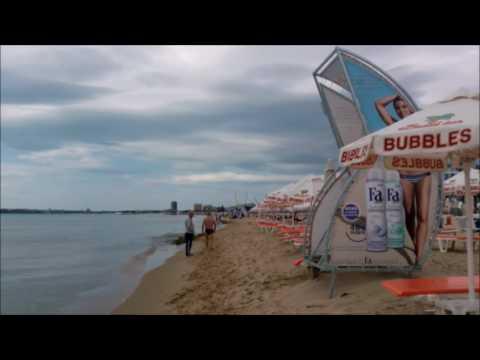Болгария. Солнечный берег. Пляж