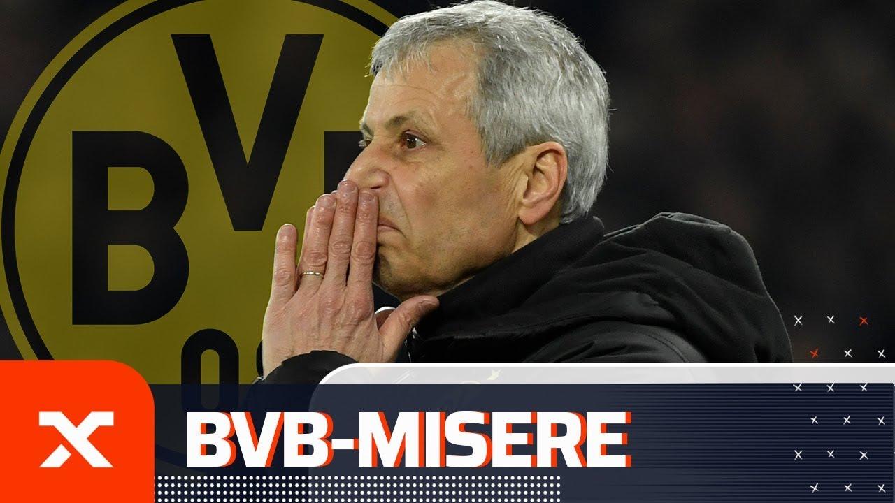 Lucien Favre vor dem Aus? Die Zahlen der BVB-Misere | Borussia Dortmund | Bundesliga | SPOX