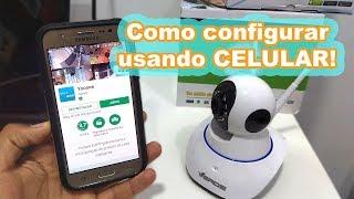 Configurando Câmera IP WiFi HD No Celular Atualizado - L Gyn