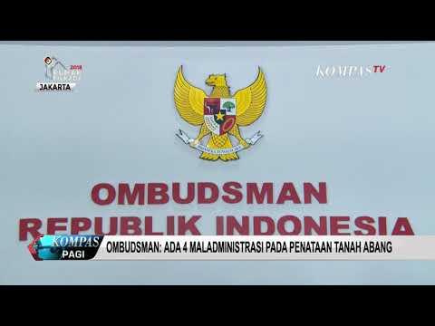 Ombudsman: Ada 4 Maladministrasi Pada Penataan Tanah Abang