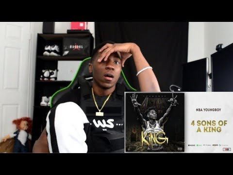 HE DID IT…NBA YOUNGBOY 4 SONS OF A KING REACTION VIDEO!