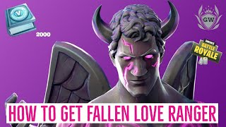HOW TO GET THE FALLEN LOVE RANGER! Fortnite Challenge Pack Rewards V Bucks and Outfit!