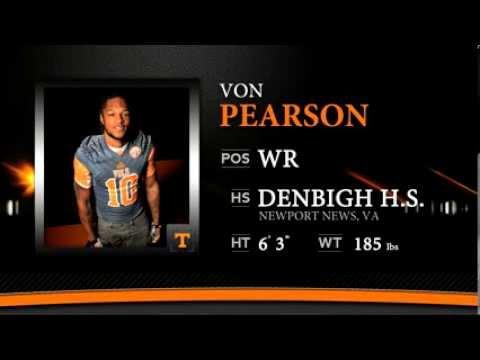 Von Pearson Highlights - #VolsNSD14