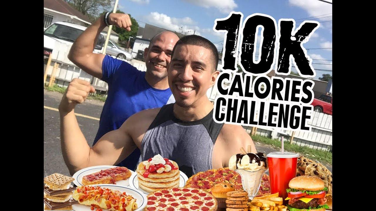 10K Calories Challenge / Reto de 10,000 Calorias en un día