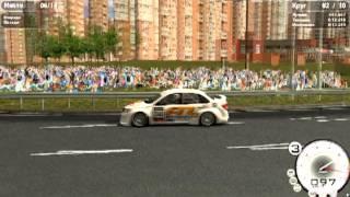 Тольятти ринг,начало гонки HTRacingS ru,vRRC 2013 Granta & Revolution