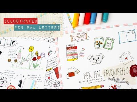Global Penfriends: Pen Pal Letter Ideas : Envelope Art