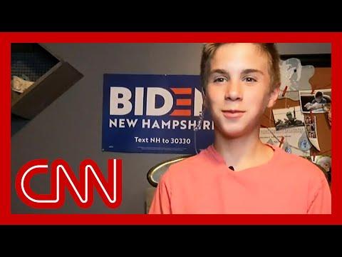 Teen shares how Joe Biden helped him with his stutter