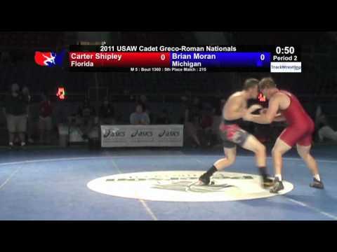 Cadet Greco 5th 215 - Brian Moran (MI) vs. Carter Shipley (FL)