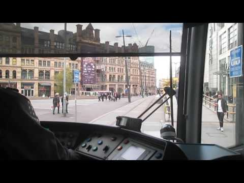 Metrolink Driver's Eye View - Deansgate-Castlefield to Victoria - Second City Crossing